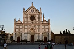 Santa Croce, Florence, Toscane (Eniram Cerf) Tags: twilight colors marble foi religion catholique catholic faith église iglesia church marbre lumière light coucherdesoleil toscane tuscany firenze florence saintecroix santacroce