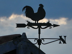 End of Day (ART NAHPRO) Tags: sussex rural summer 2017 july hot heat wave barm weather vane