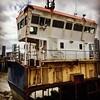 IMG_3644 (Kathi Huidobro) Tags: riverthames cityscapes urbanscene thames river urban ghostship greenwich southlondon abandoned derelict london boat