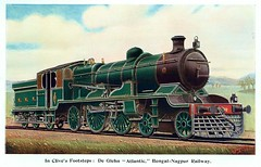 India Railways - Bengal Nagpur Railway (BNR) de Glehn 4-4-2 steam locomotive Nr. 2 (North British Locomotive Works 17818 / 1908) (HISTORICAL RAILWAY IMAGES) Tags: india railways steam locomotive bnr bengalnagpur nbl northbritishlocomotive 442 deglehn glasgow 1908