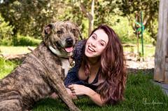 Taco & Rachel @ Ula La'au Park 01 (JUNEAU BISCUITS) Tags: portrait portraiture dog pet animal waimea hawaii natureparkpark ulalaau nikond810 nikon