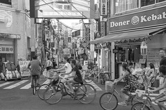 KIDS (ajpscs) Tags: ajpscs japan nippon 日本 japanese 東京 tokyo city people ニコン nikon d750 tokyostreetphotography streetphotography seasonchange summer natsu なつ 夏 street shitamachi monochromatic grayscale monokuro blackwhite blkwht bw blancoynegro othersideoftokyo strangers blackandwhite monochrome urban walksoflife 白&黒 streetoftokyo parking bicycle cycle bike kids