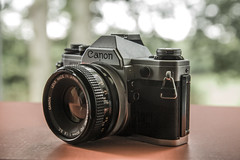 Canon AE-1 (franciscurran5) Tags: canon ae1 ae 1 fd old 35mm slr film camera 50mm 18