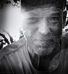 Into the Sun (JDS Fine Art Photography) Tags: homeless man monochrome bw detail sunrays homelessman character