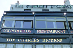 Charles Dickens, Broadstairs (piktaker) Tags: kent broadstairs pub inn bar tavern innsign pubsign publichouse charlesdickens thorleytaverns