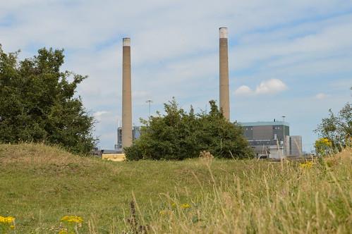 Tilbury chimneys