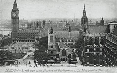 Parliament Square (Leonard Bentley) Tags: parliamentsquare westminsterbridge bigben palaceofwestminster jbeagles postcard midlesexguildhall westminsterhall stmargaretschurch westminsterabbey stthomasshospital cannonrow london uk 1908 1922