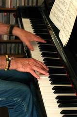 Pianist (sardinista) Tags: cheltenham july 2017