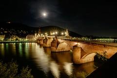 Old bridge (sigiha1953) Tags: night nachtaufnahme nacht nachtauferden nightshot nightphotography heidelberg neckar oldbridge altebrücke 2016