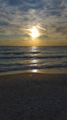 500px Photo ID: 169232135 (Colin Marr) Tags: sky landscape sea sunset water reflection beach travel sun ocean evening sand seascape dawn surf seashore dusk daylight noperson fairweather