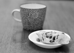 If I asked to seduce you with a cookie, would you let me? (hr_mick) Tags: anise biscotti cookie cookies milk bake baking baked goods tea cup