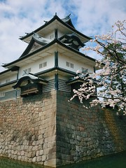 Kanazawa Castle (Costa Rica Bill) Tags: architecture japan iphone cherryblossoms vsco