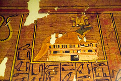 Crocodile (Stray Toaster) Tags: cambridge fitzwilliam museum egyptian book dead papyrus ramose