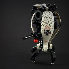 Sentinel Drone MkII (Marco Marozzi) Tags: lego legomech legodesign legomecha drone droid marozzi marco moc mecha robot
