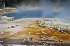 Solitary Geyser (Yellowstone National Park) (♡✌ Kᵉⁿ Lᵃⁿᵉ ✌♡) Tags: geo:lat=4446852222 geo:lon=11082914722 geotagged threeriverjunction unitedstates usa gallatincounty geothermalpool geyser httpsenwikipediaorgwikiyellowstonenationalpark httpswwwnpsgovyell nationalpark nationalparkservice np nps parkcounty solitarygeyser southcentralrockies steam tetoncounty touristattraction travelphotography usnationalpark usnationalparkservice worldsfirstnationalpark wy wyoming yellowstone yellowstonenationalpark yellowstonenp ynp