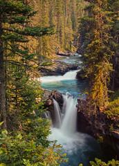 Coarsing Through (Aakash Gupta Photography) Tags: outdoor river longexposure hiking banff canada johnstoncanyon trails stream flow nature