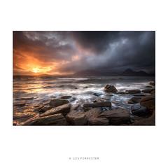 Elgol Storm (les forrester) Tags: landscape scotland skye elgol drama light sea rocks storm travel scapes alone