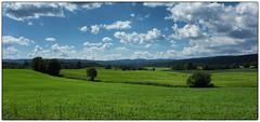 Utsikt fra Nannestadvegen (Krogen) Tags: norge norway norwegen akershus romerike nannestad landscape landskap krogen fujifilmx100