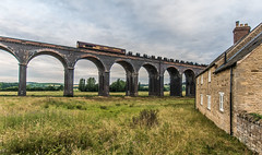 Don't Wake the Neighbours (Terry 47401) Tags: 66068 class66 steel coils 6m94 margam corby harringworth viaduct