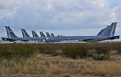 Airplane Boneyard (lastflowerstilthehospital) Tags: airplane usaf tucson arizona boneyard