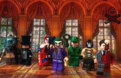 Lego Batman Villains (captaincustom/collector) Tags: mr freeze penguin harley quinn joker riddler bane twoface dc lego custom
