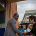 Makoto Hasebe, Japanese national soccer team player and UNICEF Japan Goodwill Ambassador visit to Ethiopia