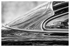 _DSC8751 (gillesporlier) Tags: auto car bw nb monochrome nikon d7100 lightroom window old reflexion reflet miroir chrome