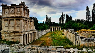 APHRODISIAS - World Heritage List - 2017 . Geyre/Turkey.  The Sebasteion