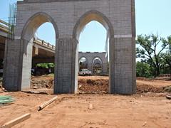 Bridge piers (Andrew Penney Photography) Tags: random construction projects work cottonwoodcreek bridge