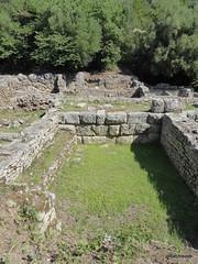 0014 Shrine of Asclepius, Butrint (4) (tobeytravels) Tags: albania butrint buthrotum illyrian shrine asclepius temple