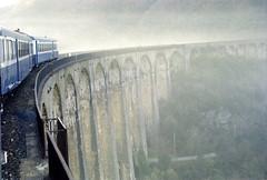 Viaduc de Chamborigaud (maxguitare1) Tags: train zug treno tren dieseltrain autorail viadotto viaducto viaduct viaduc france gard minolta cévennes