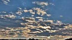 Morning Clouds (dana.ny) Tags: sky cloud contrast blue skyline newyork country buffalo erie county