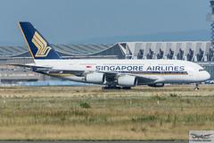 Singapore Airlines Airbus A380-841 9V-SKN (718732) (Thomas Becker) Tags: singapore airlines sia airbus a380841 a380800 a380 a388 9vskn staralliance msn 71 081110 fwwsx 140911 sq25 newyork jfk fraport flughafen airport aeroport aeropuerto aeroporto fra eddf frankfurt plane spotting aircraft airplane avion aeroplano aereo 飞机 vliegtuig aviao аэроплан samolot flugzeug germany deutschland hessen rheinmain nikon d7200 nikkor 80400g vrii dx raw gps aviationphoto cthomasbecker 170718 taxiing geotagged geo:lat=50039523 geo:lon=8596970 aerotagged aero:airline=sia aero:man=airbus aero:model=a380 aero:series=800 aero:tail=9vskn aero:airport=eddf