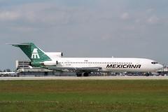 XA-HOH Boeing 727-264 Mexicana (pslg05896) Tags: xahoh boeing727 mexicana mia kmia miami