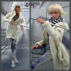 sweat-shirt-1 (Dollfason) Tags: кукла коллекционная шарнирная clothes for doll dolloutfit fashionfordoll fashiondoll fr16 streetstyle