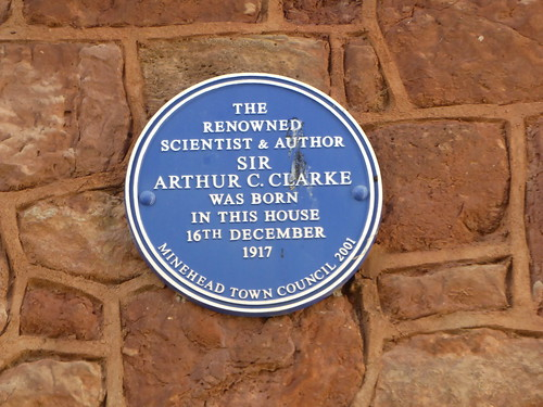 Arthur C. Clarke, Minehead