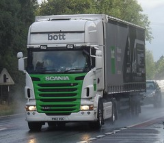 Bott PN12 VOC (Ex eddie stobart) (joshhowells27) Tags: lorry r440 truck scania bott curtainsider ashbydelazouche