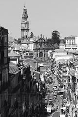 Rua de 31 de Janeiro, Igreja dos Clérigos, Porto (jmadrid93) Tags: calle street clérigos rua paisaje landscape arquitectura architecture portugal oporto porto