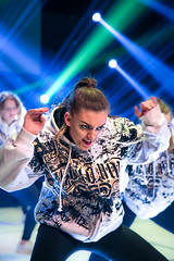 Expression of the dance (mpakarlsson) Tags: dance expression eye eyes focus lights light hiphop stage theater rehearsal falköping sweden girl motion canon 5d mark iii 5dmark3 5dmarkiii 24105 llens