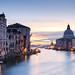 Venice Grand Canal at sunrise