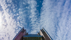 Space (Jorden Esser) Tags: otherkeywords vlaardingen chairs clouds hss jordenesser sky sliderssunday middendelfland lookingup