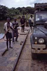 Cable Ferry (thulobaba) Tags: british army royalengineers re sappers militarysurvey sierraleone ferry river crossing