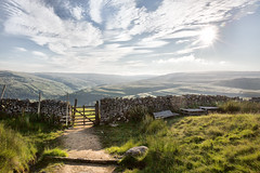 Through The Gate (jamesromanl17) Tags: nature landscape sky outdoors travel water hill mountain cloud summer rock clouds cloudscape cloudy sunlight sun sunset sundown skies wall gate farm farming farmland yorkshiredales nationalpark britain countryside england landscapes