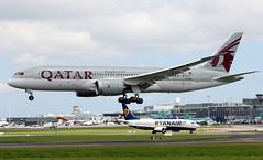 A7-BDB (Ken Meegan) Tags: a7bdb boeing7878 38346 qatarairways dublin 2472017 qatar boeingdreamliner boeing787 boeing 7878 787 b787 b7878 dreamliner