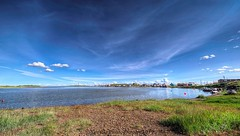 Z01_1782s (savillent) Tags: tuktoyaktuk nt northwest territories canada arctic north landscape seascape skies clouds blue beach summer nikon photography july 2017