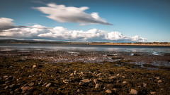 Dornoch Bridge (MBDGE) Tags: dornoch bridge longexposure lightroom sea scotland northsea neutraldensity canon70d cloud water waves alba uk seascape shoreline