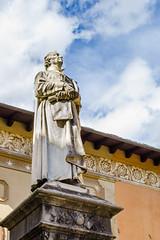 Statue of Giuseppe Piazzi (Armand K) Tags: ceres1 giuseppepiazzi italy piazzi ponteinvaltellina valtellina astronomer mathematician memorial public statue