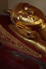 """Wat Phra That Hariphunchai (g e r a r d v o n k เจอราร์ด) Tags: artcityart art asia asia"""" asian buddha canon colour canon5d3 expression eos earthasia flickrsbest fantastic flickraward lifestyle ngc newacademy golden indoor totallythailand photos reflection this travel thailand thai tempel temple unlimited whereisthis where yabbadabbadoo"""