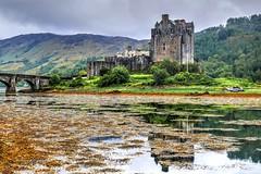Eilean Donan Castle, Dornie,Scotland (Phelan (Shutter Clickin) Goodman) Tags: medieval castle scotland mountains mist reflection highlands seaweed panasonic gx80 atmosphere eilean donan historic mckenzie clan home bridge loch alsh long duich dornie