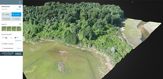 3d Mapping Drone Flight at Wing Island